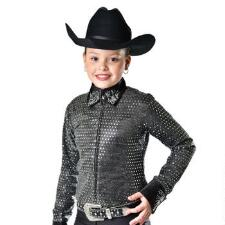 Ainsley Girls Sequined Show Jacket - TB