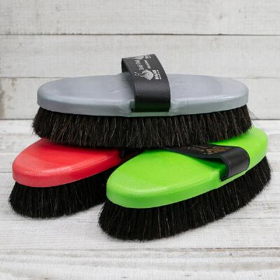 Haas Grundys Finest Soft Horsehair Body Brush