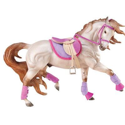 Breyer English Riding Set Hot Colors