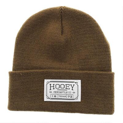 Hooey Knit Beanie with Patch