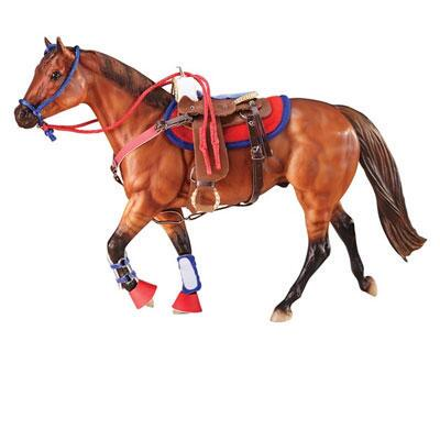 Breyer® Western Riding Set Hot Colors