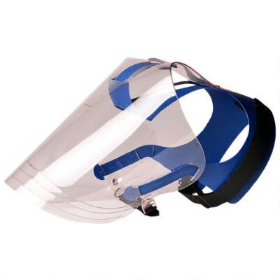 Optivisor Protects Dogs Eyes and Face Long Snouted Breeds