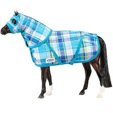 Breyer Traditional Quilted Blanket and Hood Set - TB