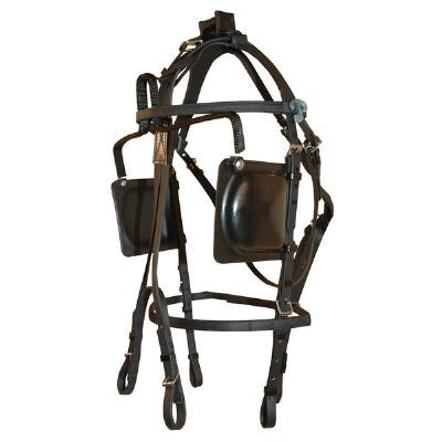 Protecto Blind Bridle Plus Headnumber Holder