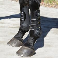 Ceramic Open Front Boots