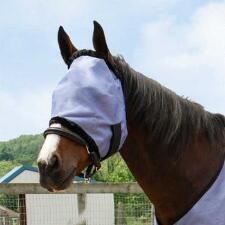 Country Pride PVC Blue Mesh Fly Mask - TB