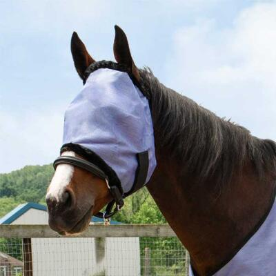 Country Pride PVC Blue Mesh Fly Mask
