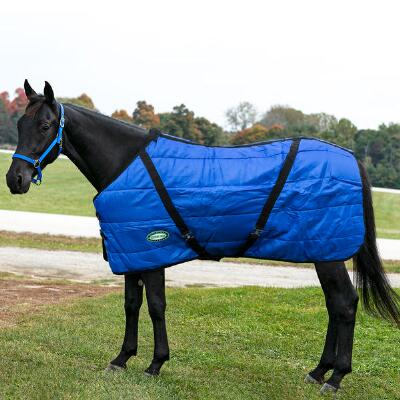 Sentinel 420D Channel Quilt 250gm Open Front Stable Blanket