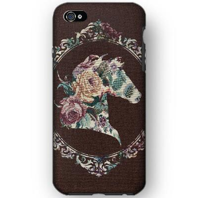Spiced Equestrian Chocolate Damsel Phone Case