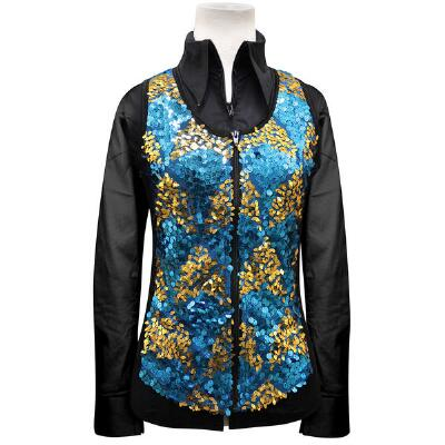 Gracie Chevron Ladies Western Show Vest