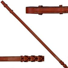 Edgewood Fancy Stitched Laced English Reins