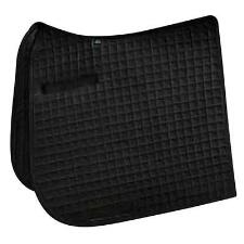 Toklat Clarion Long Dressage Pad Black - TB