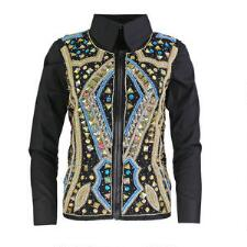 Carmella Hand Embroidered Ladies Show Vest - TB