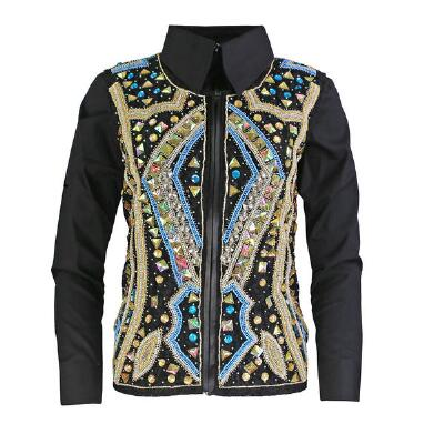 Carmella Hand Embroidered Ladies Show Vest