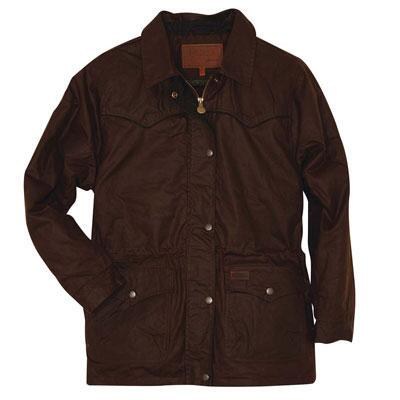 Outback Trading Round-Up Oilskin Ladies Jacket