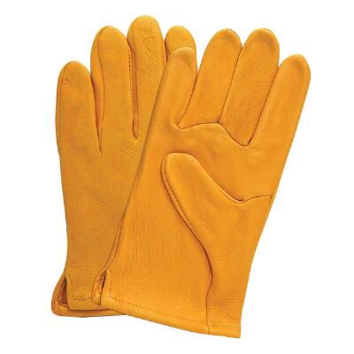 Tan Deerskin Work Glove Mens
