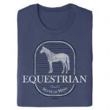 Stirrups Equestrian Short Sleeve Ladies Tee - TB
