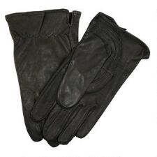 Goatskin Work Glove Ladies - Black - TB