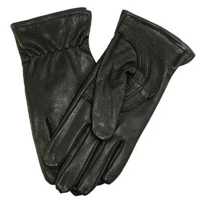 Black Goatskin Work Glove Kids