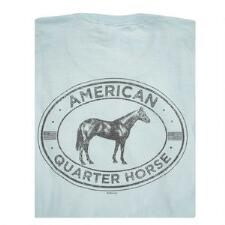 Stirrups American Quarter Horse Short Sleeve Adult Tee - TB