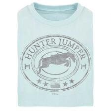 Stirrups Hunter Jumper Short Sleeve Girls Tee - TB
