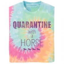 Stirrups Quarantine with a Horse Short Sleeve Girls Tee - TB