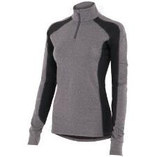 Noble Outfitters Lauren Quarter Zip Mock Ladies Turtleneck