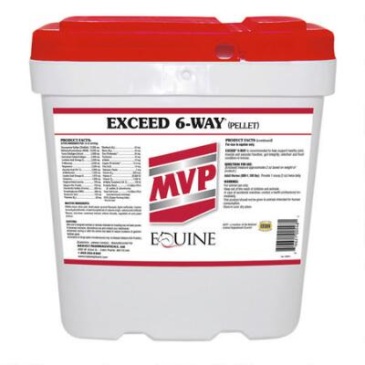 Exceed 6-Way Pellets 32 lb