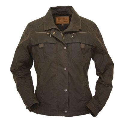 Outback Trading Shielas Delight Oilskin Ladies Jacket