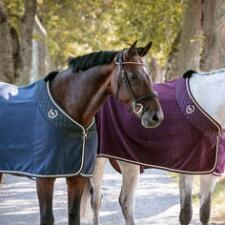 Back On Track Therapeutic  Night Collection Fleece Rug - TB