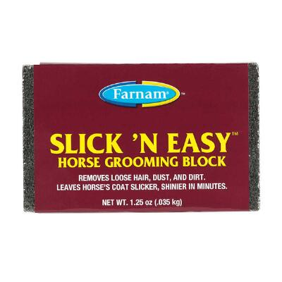 Farnam Slick N Easy Grooming Block