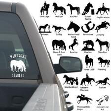 Window Decal - Horse Logo With Lettering 4