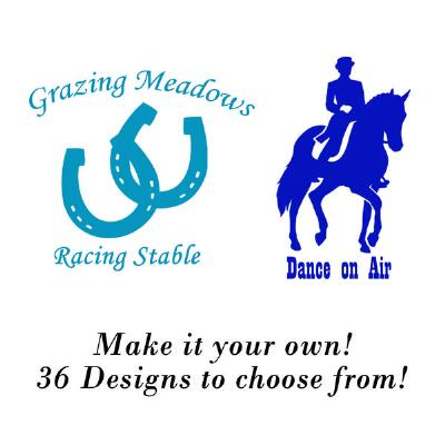 Personalized Logo Decal with Lettering