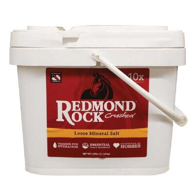 Redmond Rock Crushed Loose Mineral Salt 25 lb