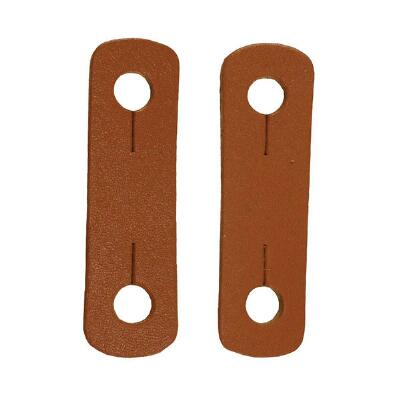 Leather Tabs for Peacock Stirrups Pair