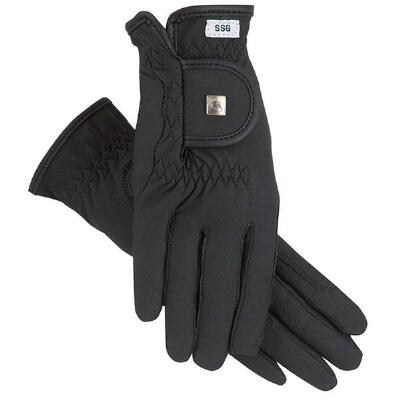 SSG Silk Lined Soft Touch Glove Black