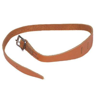 Tongue Tie Leather Stitched Buckle