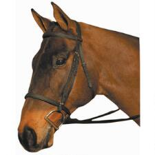 Wintec Synthetic English Bridle Reg Noseband - TB