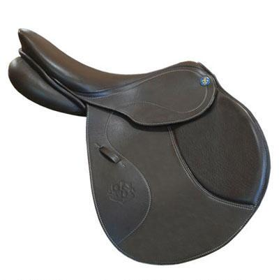P Fontaine Lyon Jumping Saddle Size 17.5 Wide