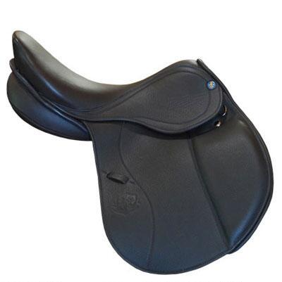 P Fontaine Lamotte Jr Jumping Saddle Size 16 Wide