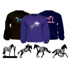 T-Shirt Long Sleeve With Glitter Designs