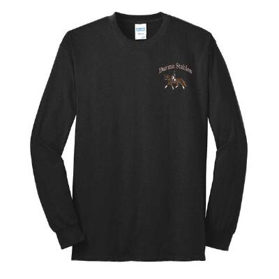 T-Shirt Long Sleeve With Custom Embroidery