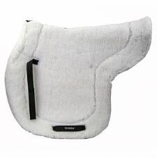 Back On Track Ceramic Teddy Saddle Pad White - TB