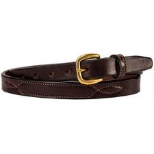 Fancy Stitch .75 Inch Havana Unisex Belt - TB