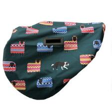 Shires Waterproof Sheep Print English Saddle Cover - TB