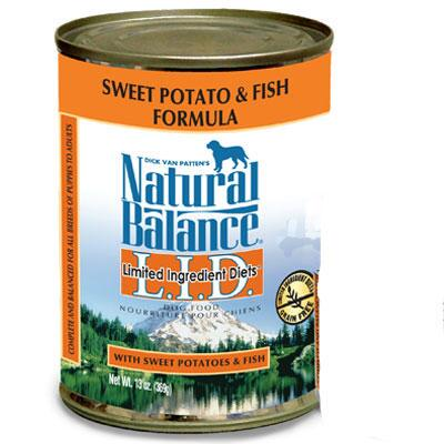 LID Fish and Sweet Potato 13 oz Can