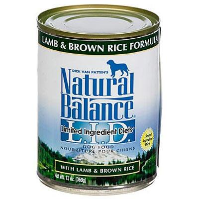 LID Lamb and Brown Rice 13 oz Can