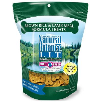 LIT Lamb Meal and Brown Rice Treats 8 oz