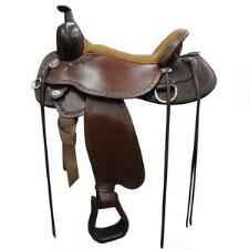 Circle Y Alpine Flex2 Western Trail Saddle - TB