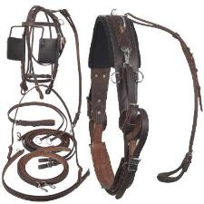 Walsh Leather Training Harness 2400 - TB